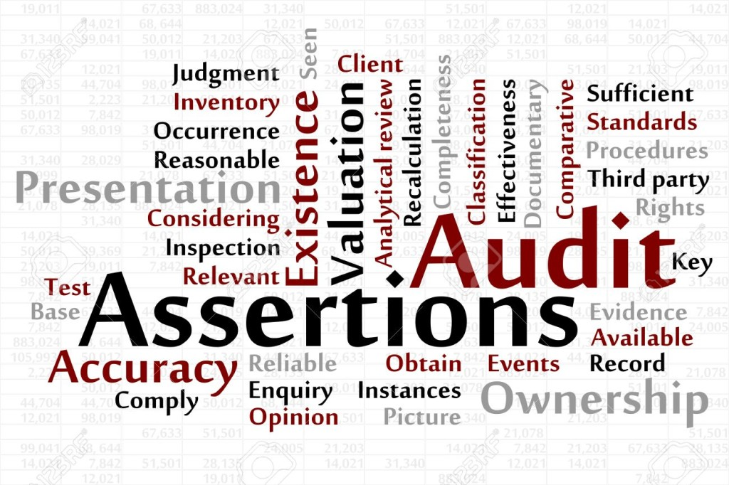 17372572-Audit-Assertions-word-cloud-with-data-sheet-background-Stock-Vector